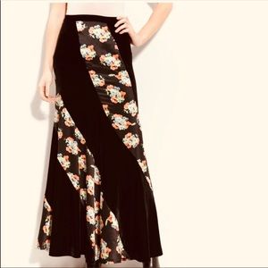🍃Free people🍃 ▪️NWOT▪️Twisted velvet maxi